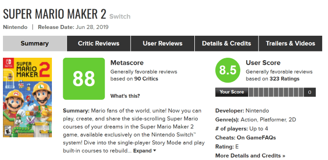 Read the Game Review