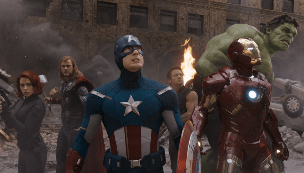 the avengers 2012 money shot