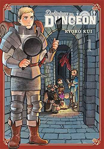 Delicious in Dungeon Vol. 1 cover