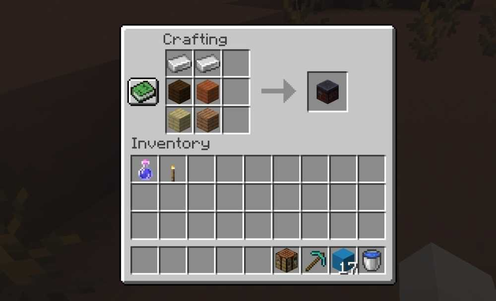 How to make a Smithing Table in Minecraft's Nether Update ...
