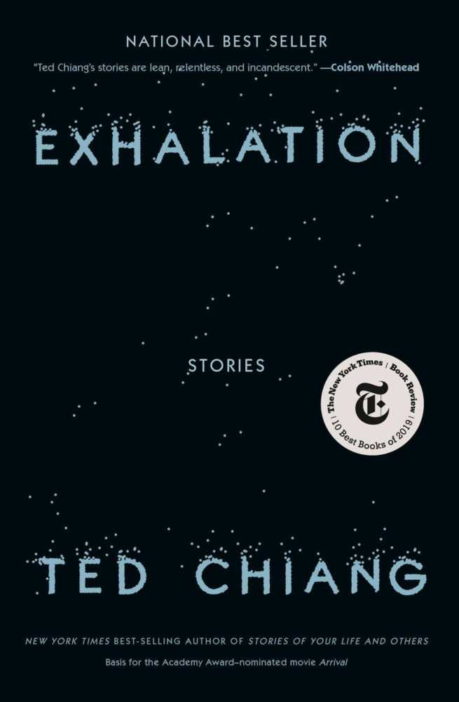 Cover of Exhalation: Stores by Ted Chiang