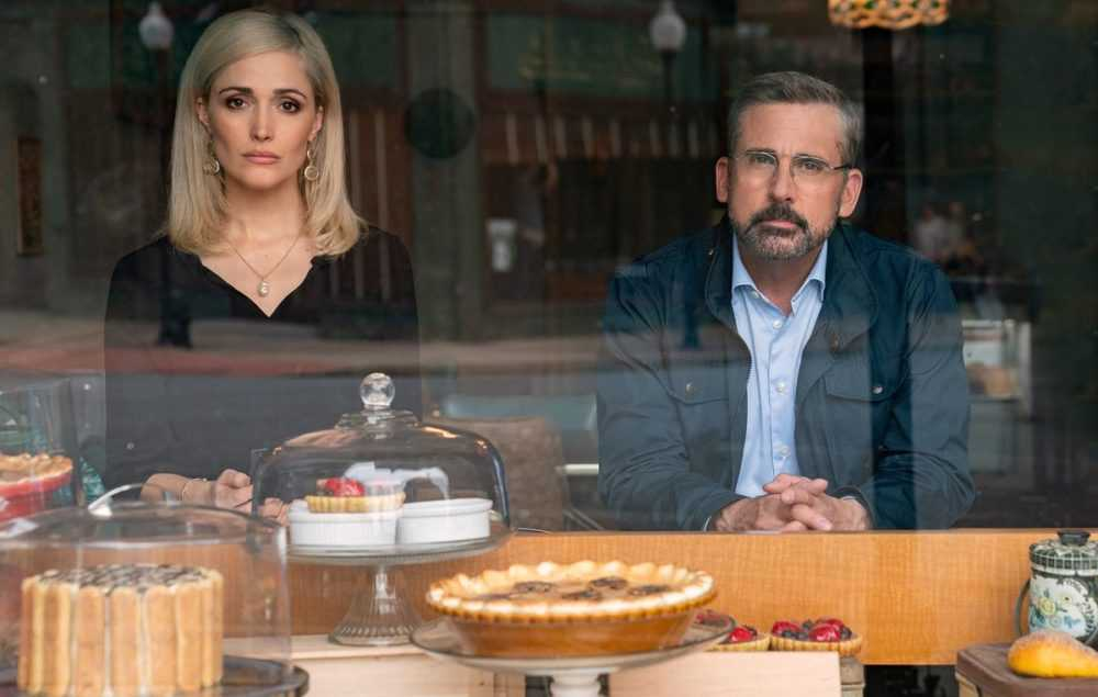 rose byrne and steve carell in irresistible