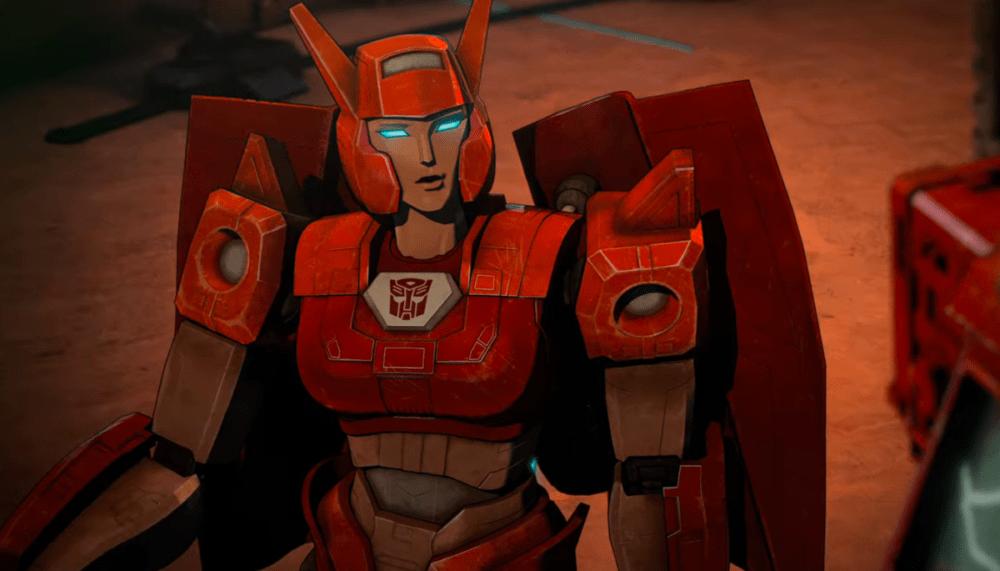 Elita One on Transformers War for Cybertron - Siege
