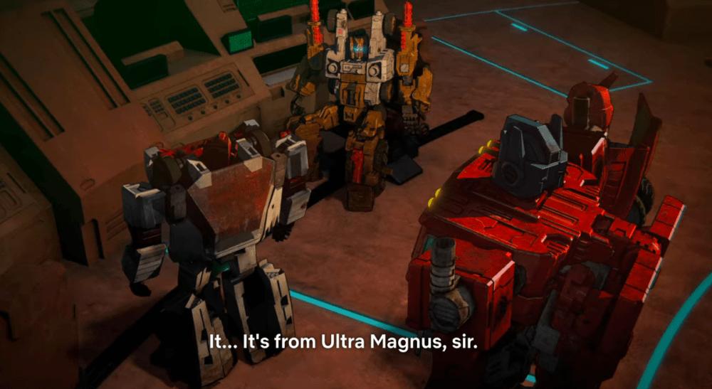 Tan Cog talksa bout Ultra Magnus on Transformers: War for Cybertron