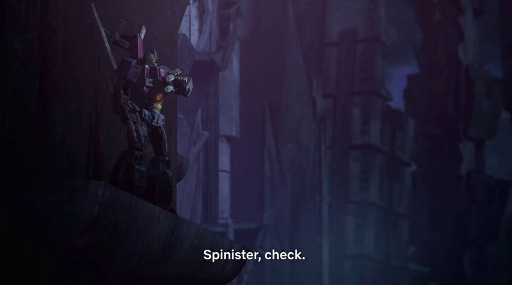 Spinister in Transformers: War for Cybertron - Siege
