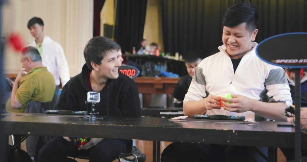 feliks zemdegs and max park sit together