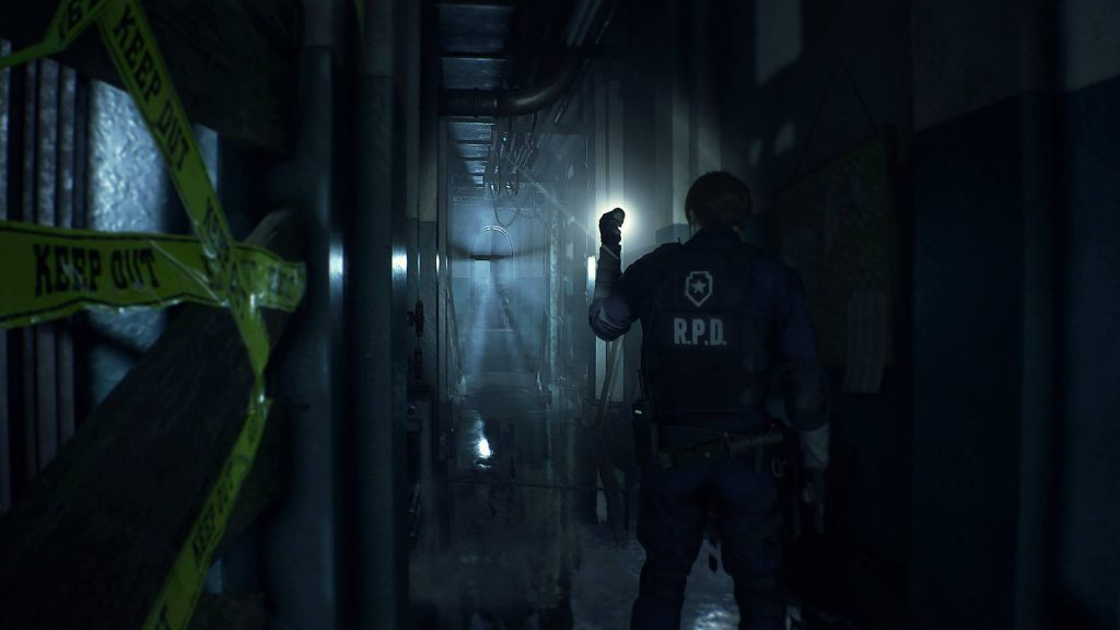 Best PS4 Horror Games Resident Evil 2