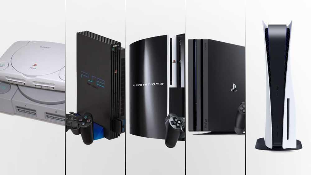 History of PlayStation: PS1, PS2, PS3, PS4, and PS5